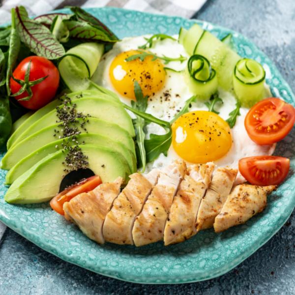 paleo breakfast plate